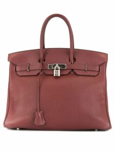 Hermès Pre-Owned Birkin 35 - Red