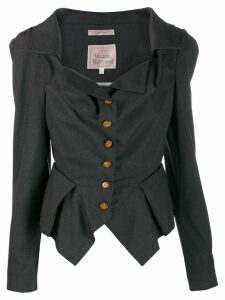 Vivienne Westwood Pre-Owned puff sleeve blazer - Green