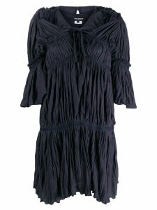 Junya Watanabe Comme des Garçons Pre-Owned pleated layered dress -