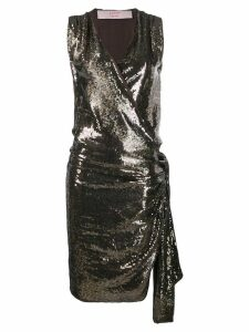 Lanvin Pre-Owned 2004's sequin envelope dress - Brown