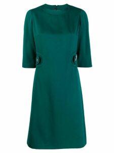 William Vintage cropped short dress - Green