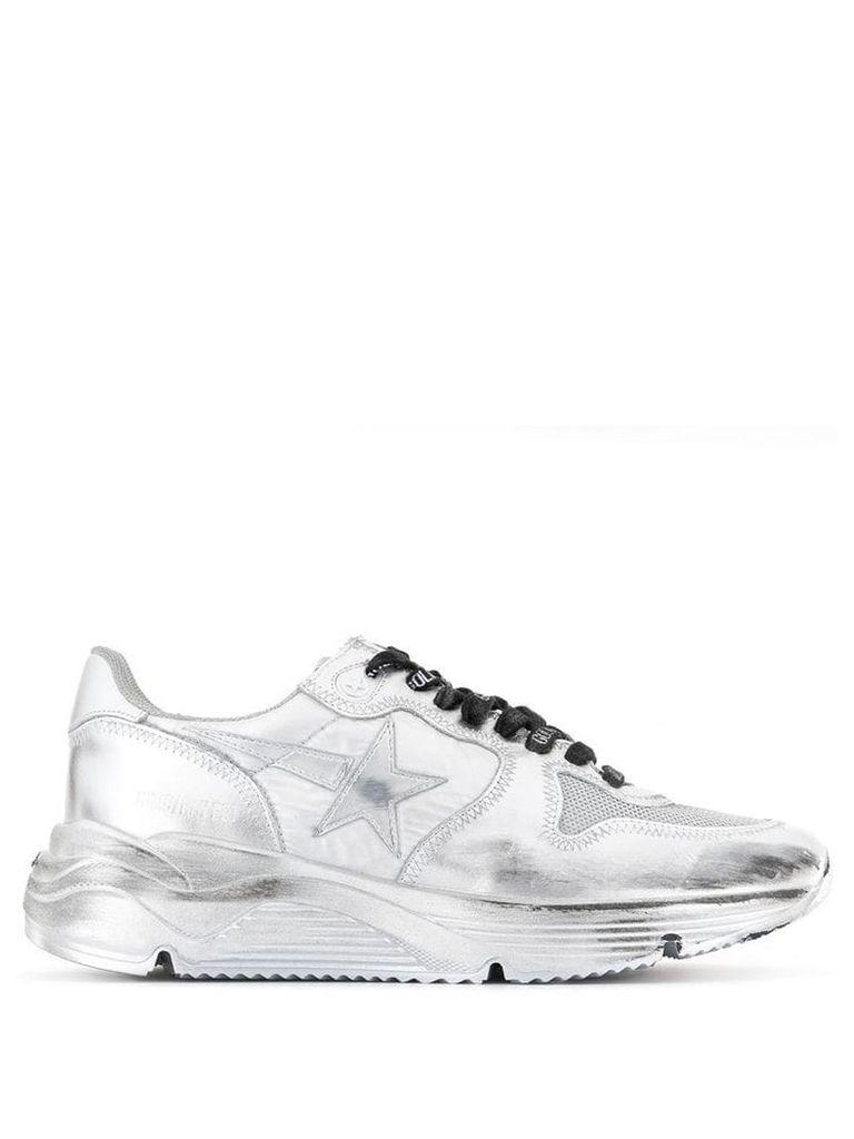 Golden Goose Running sole sneakers - Silver
