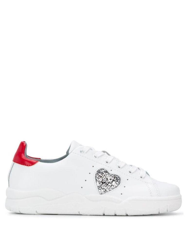 Chiara Ferragni heart sneakers - White