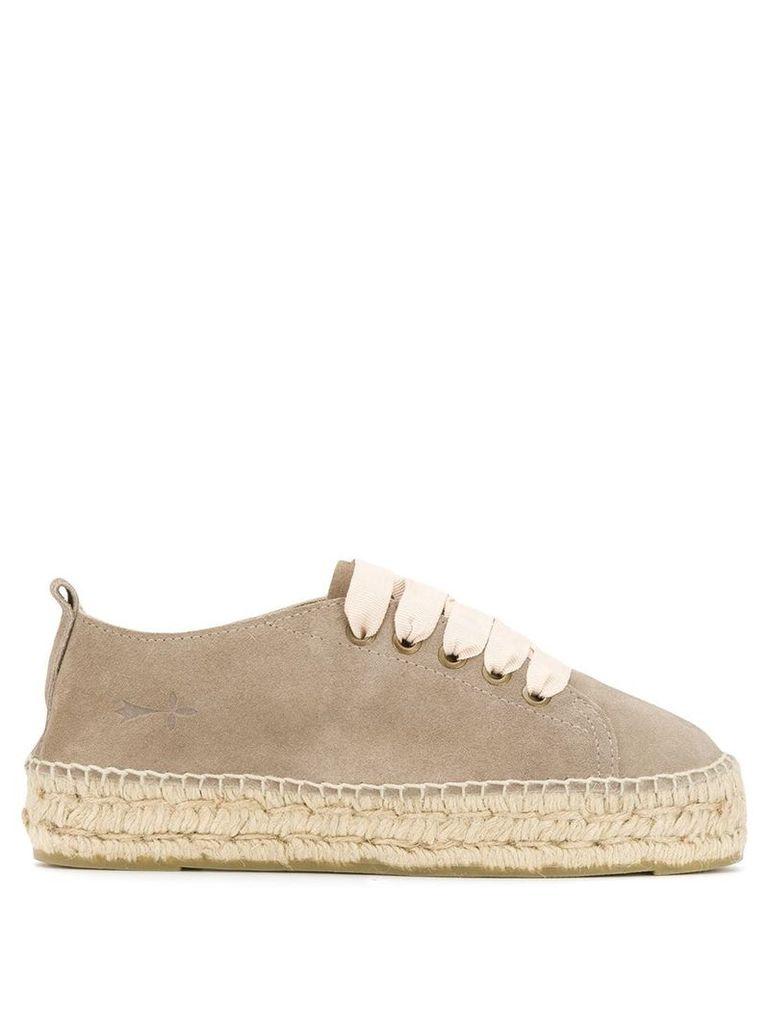 Manebi Hamptons espadrille sneakers - Neutrals