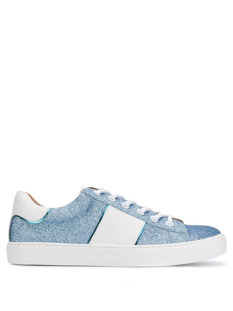 Twin-Set glitter sneakers - Blue