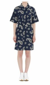Lacoste L!ve Paisley Printed Dress
