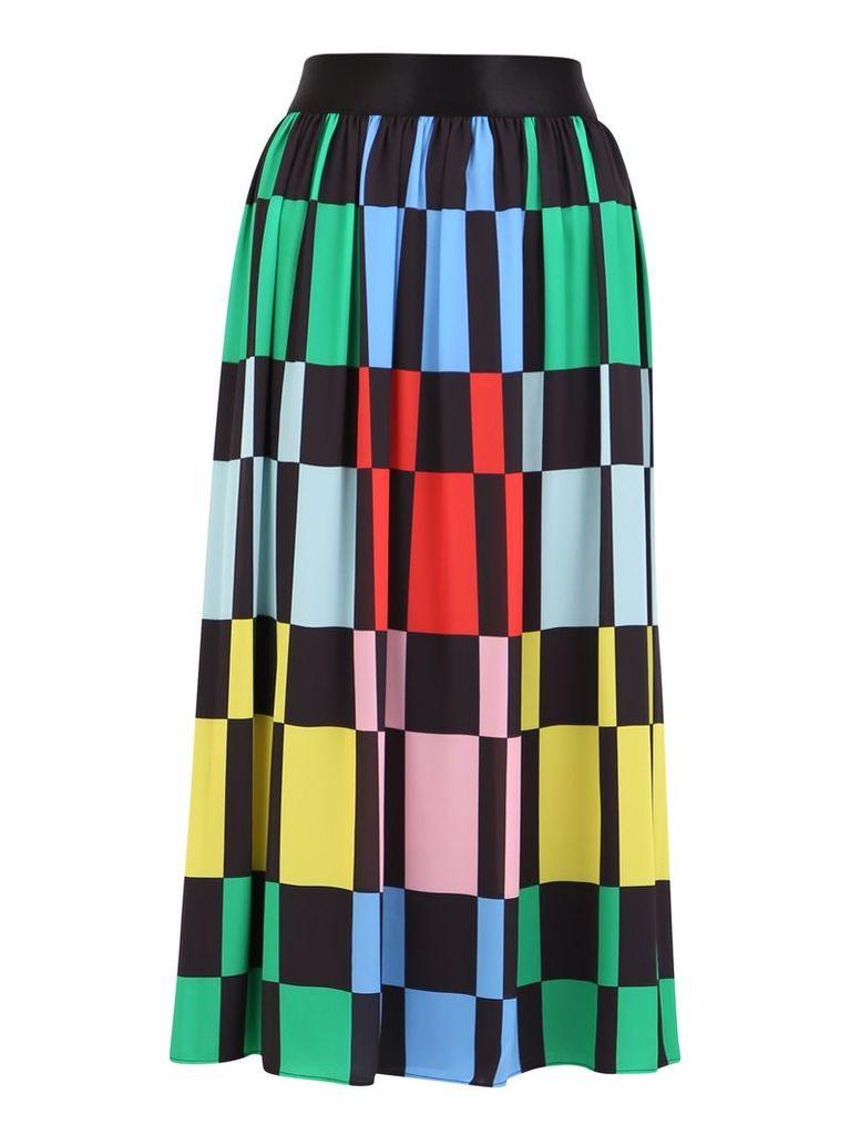 Alice + Olivia Color Block Skirt