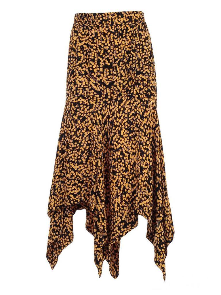 Ganni Draped Skirt