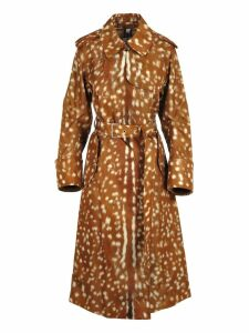 Burberry London Burberry Deer Print Trench Coat