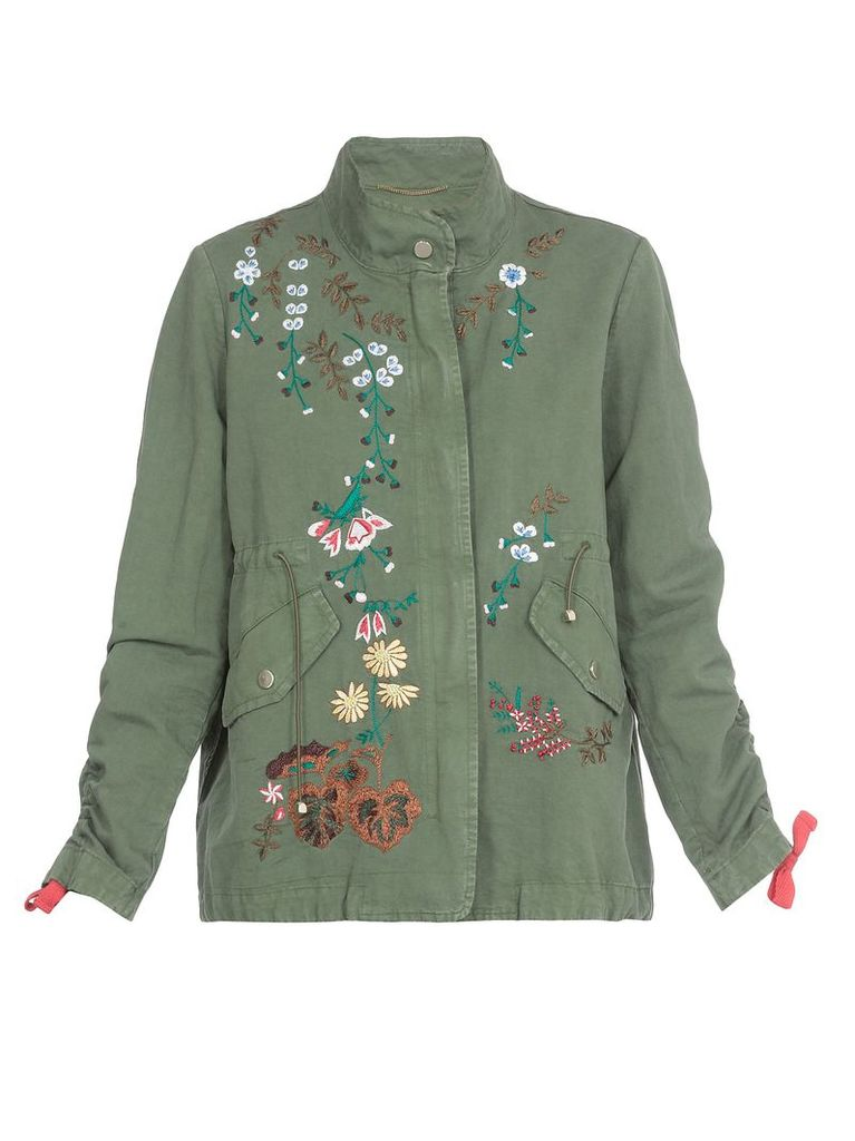 Bazar Deluxe Parka With Embroideries