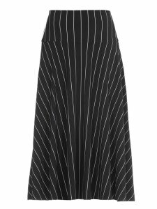 Norma Kamali Striped Skirt