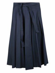 Max Mara Tie Waist Skirt
