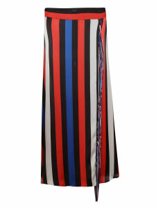 MSGM Striped Skirt