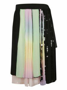Marco de Vincenzo Asymmetric Midi Skirt
