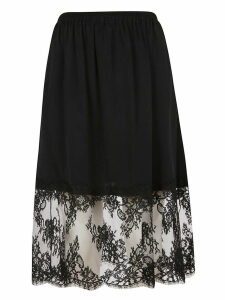 MSGM Lace Panel Skirt