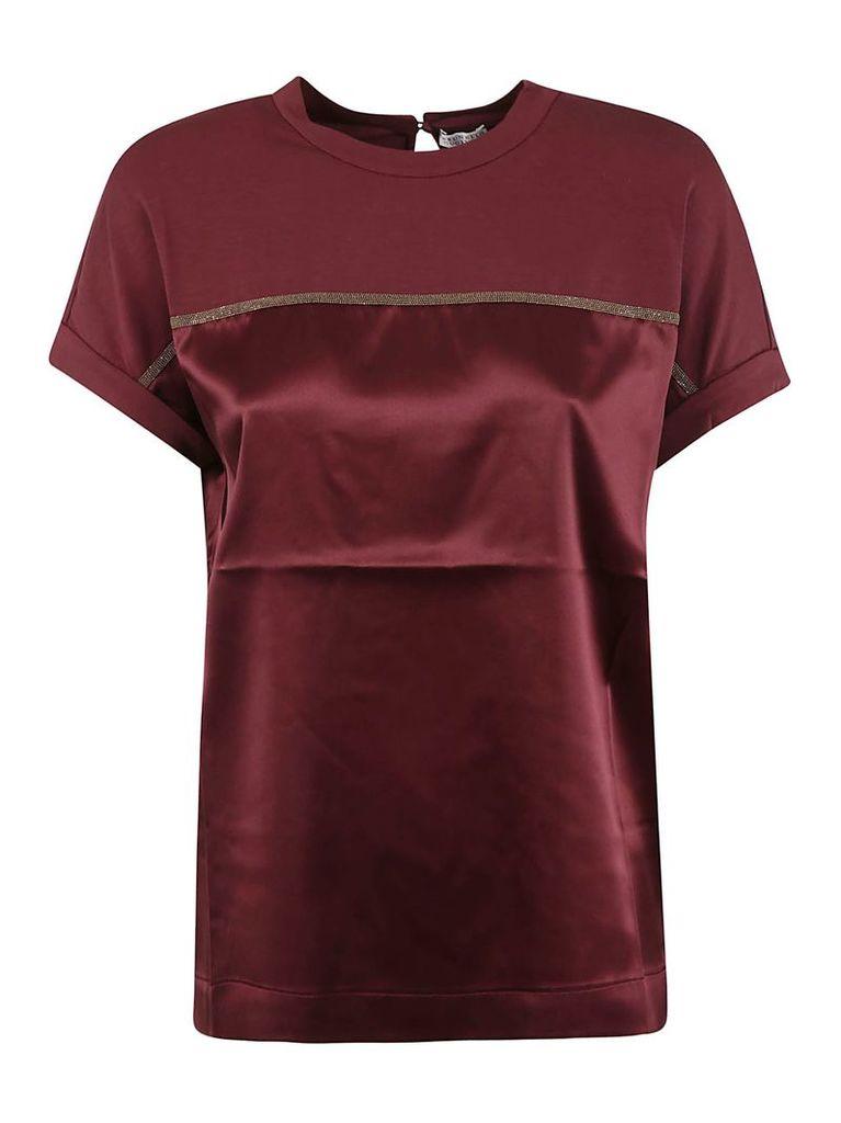 Brunello Cucinelli Beaded T-shirt