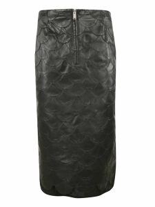 Golden Goose Fishscale Pencil Skirt