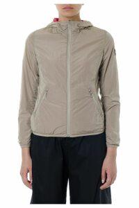 Colmar Beige & Fuxia Reversible Hoodie Jacket