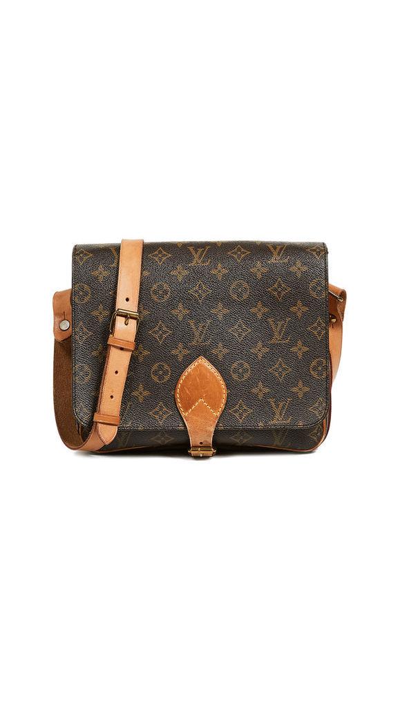 What Goes Around Comes Around Louis Vuitton Monogram Cartouchiere Bag