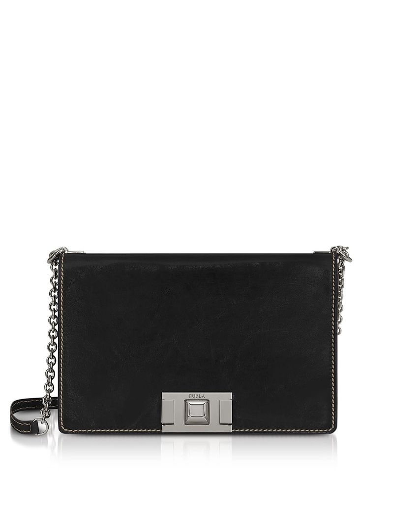 Furla Glossy Leather Mimì S Crossbody Bag