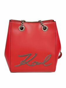 Karl Lagerfeld Signature Bucket Bag
