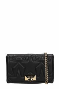 Jimmy Choo Black Quilted Leather Helia Bag
