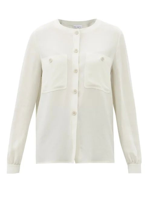 Zimmermann - Amari Paisley Crochet Midi Dress - Womens - Cream