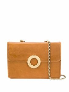 L'Autre Chose circle shoulder bag - Brown
