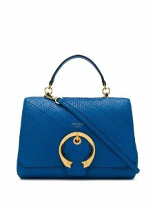 Jimmy Choo Madeline top handle bag - Blue