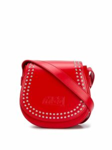 McQ Alexander McQueen studded mini satchel bag - Red