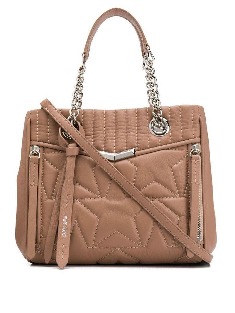 Jimmy Choo Helia shopper tote - Pink