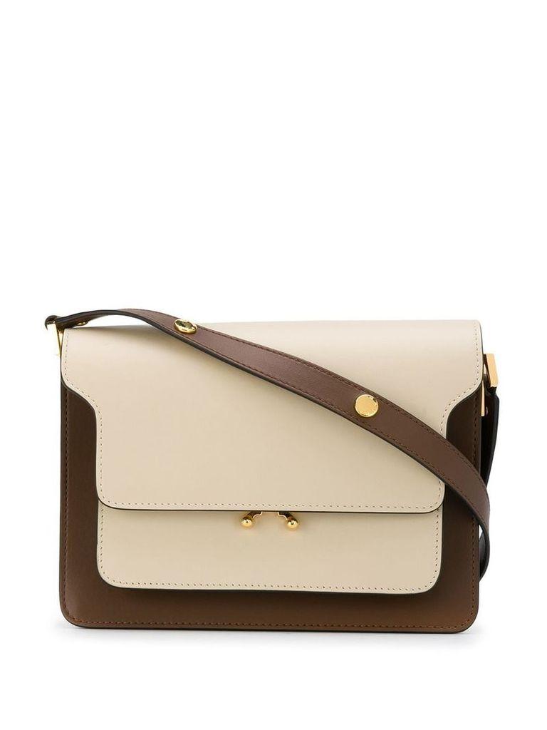 Marni trunk shoulder bag - Neutrals