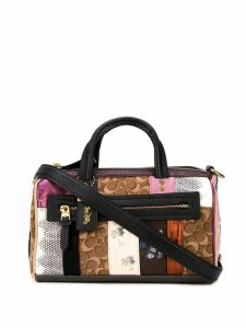 Coach patchwork-style tote bag - Multicolour