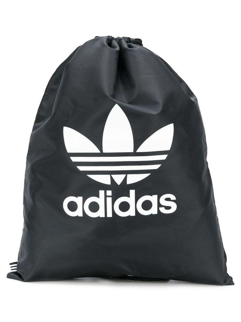 Adidas Adidas Originals Trefoil drawstring backpack - Black