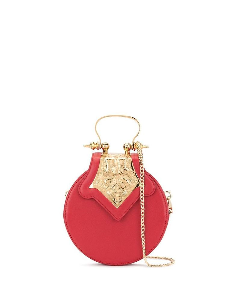 Okhtein mini Dome bag - Red