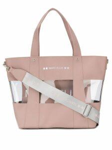 Marc Ellis plexi tote bag - Pink