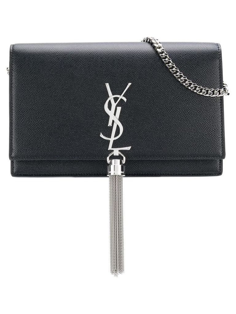 Saint Laurent Kate tassel chain bag - Black
