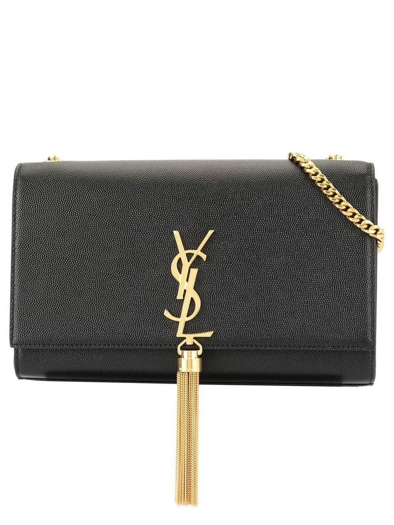 Saint Laurent small Monogramme shoulder bag - Black