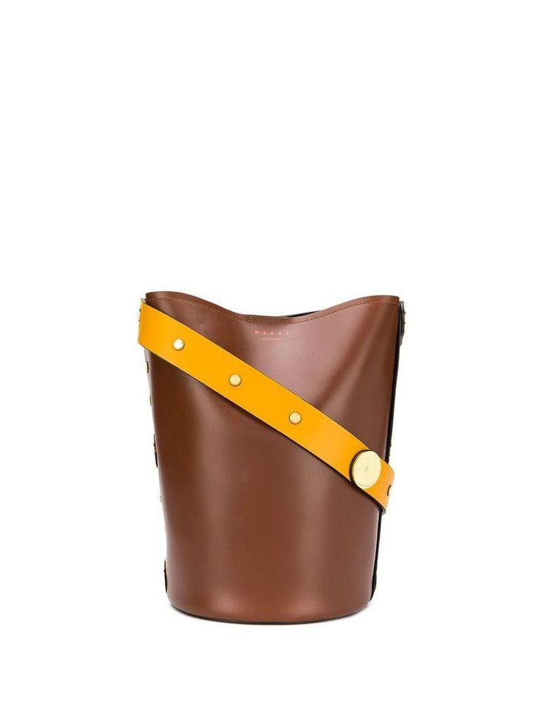 Marni Punch bucket bag - Black