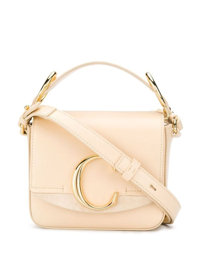 Chloé 'Chloe C' shoulder bag - Neutrals