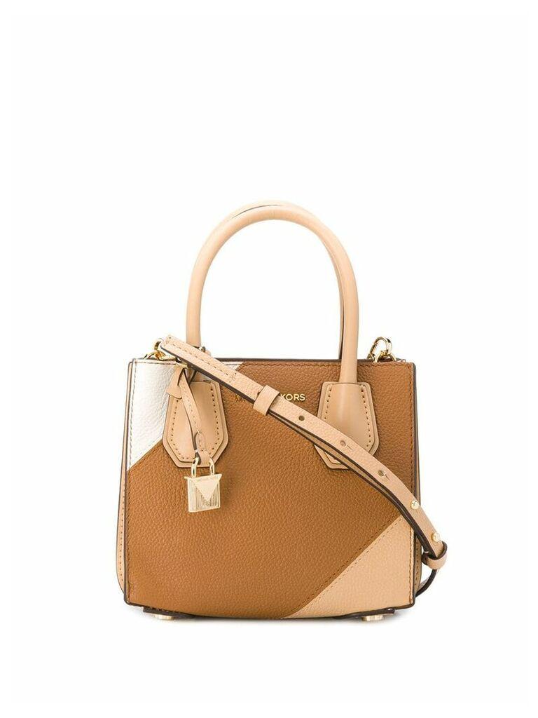 Michael Michael Kors Mercer mini tote bag - Brown