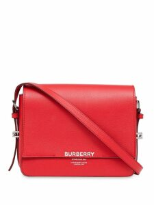 Burberry Small Leather Grace Bag - Red