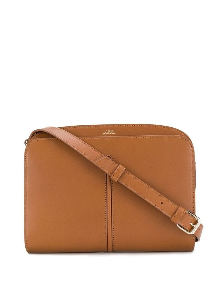 A.P.C. aurelie satchel bag - Brown
