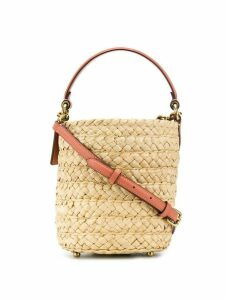 Coach straw tote - Neutrals