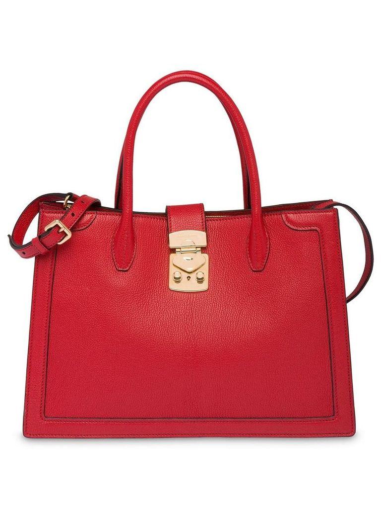Miu Miu Confidential tote bag - Red