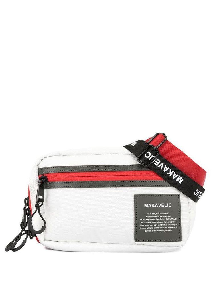 Makavelic 3 Way belt bag - White