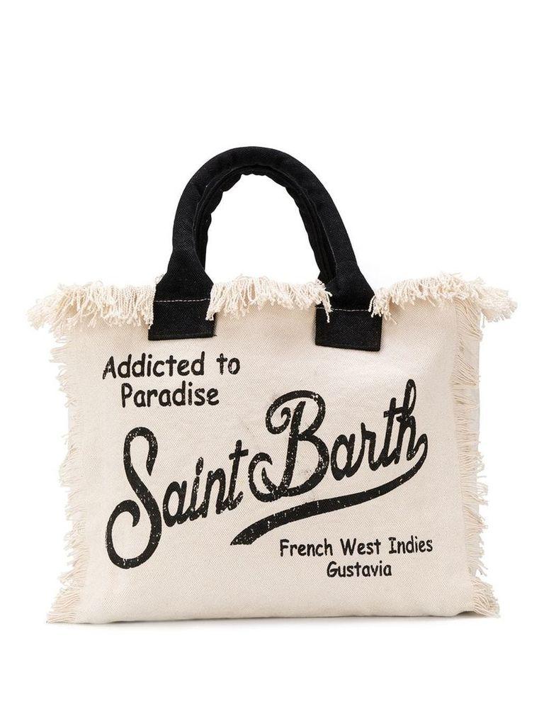 Mc2 Saint Barth Vanity beach bag - Neutrals