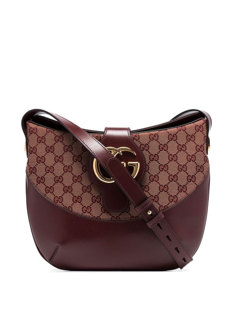 Gucci Arli GG medium shoulder bag - Red