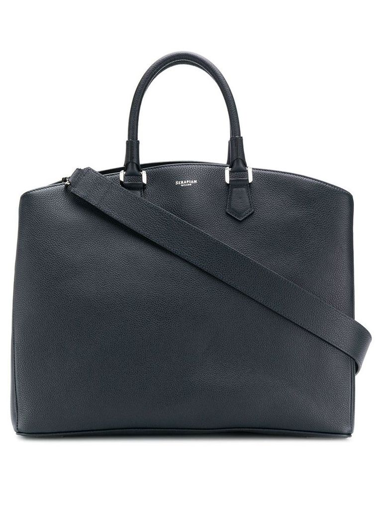 Serapian oversized tote - Blue