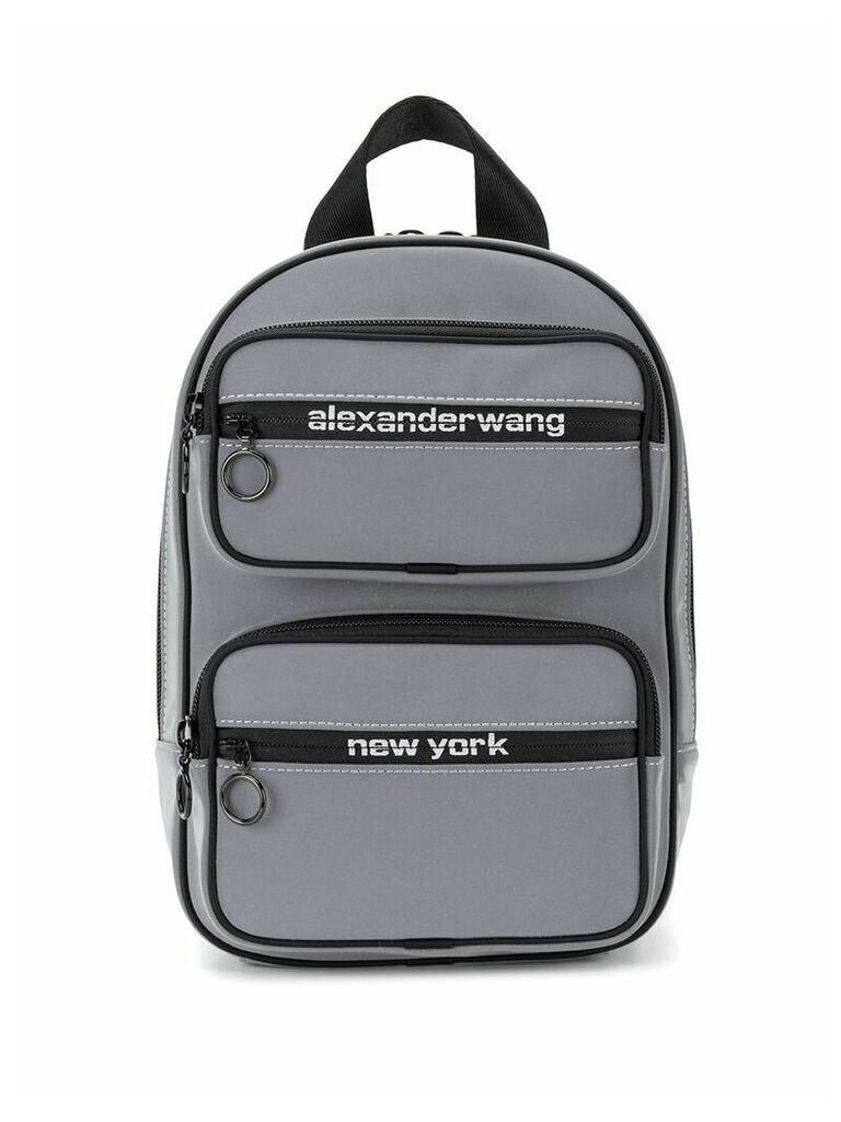 Alexander Wang Reflective backpack - Grey